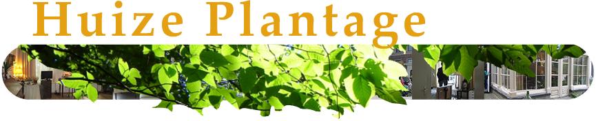 Huize Plantage titel